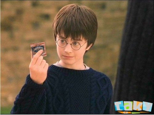 Harry Potter a Durex